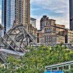 Chicago Amphitheater & Skyline