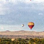 Ballons along the Ridge