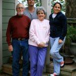 Mom, Dad, Marcela & I :)