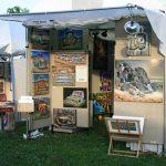 Art & Air 2010 booth shot