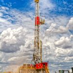 Rig near Water Tower by Jamie Rood