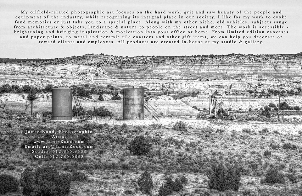 Badlands Pumping - postcard back