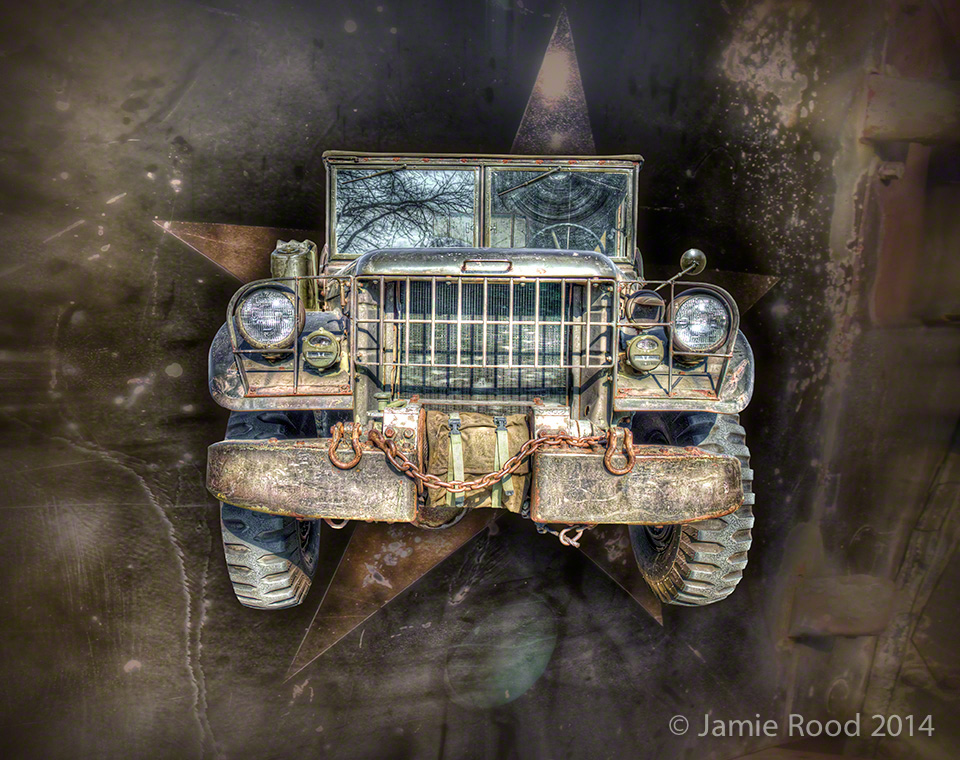 51 Military Jeep with Star